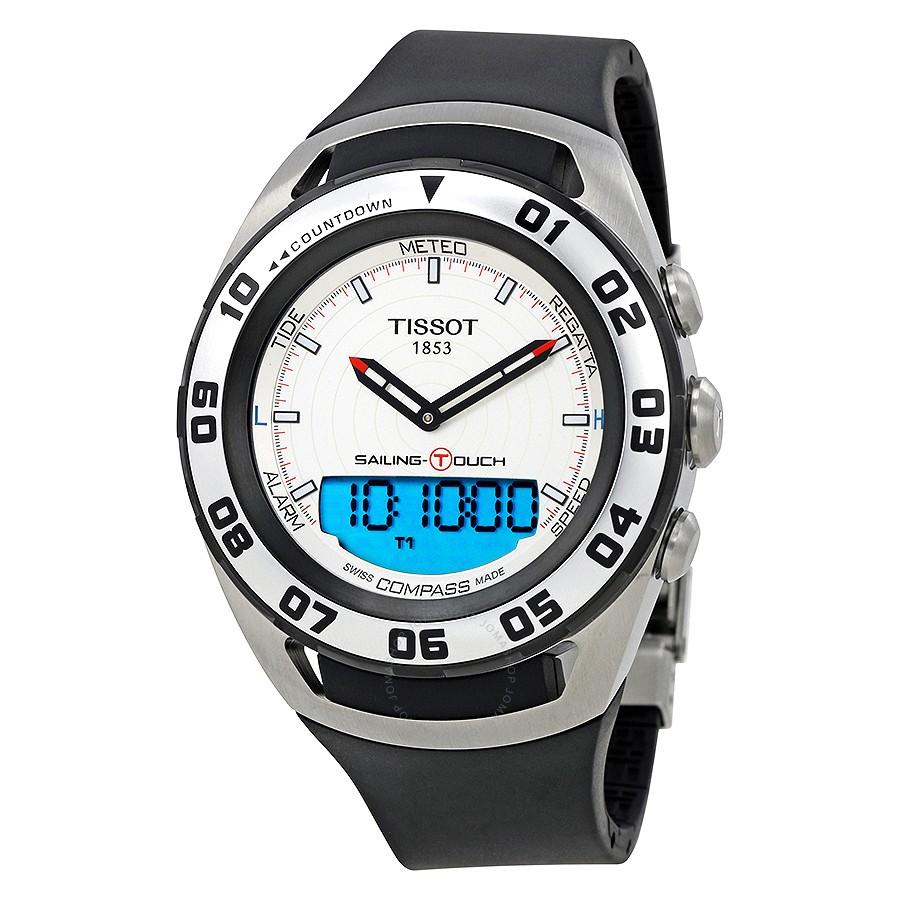 Orologio Uomo T0564202703100 Tissot Acciaio Touch 9IYeED2HW